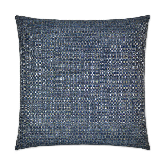 Jackie O Pillow in Navy Blue