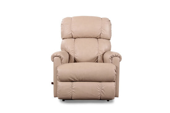 "Casual 33"" Rocker Recliner in Light Brown"