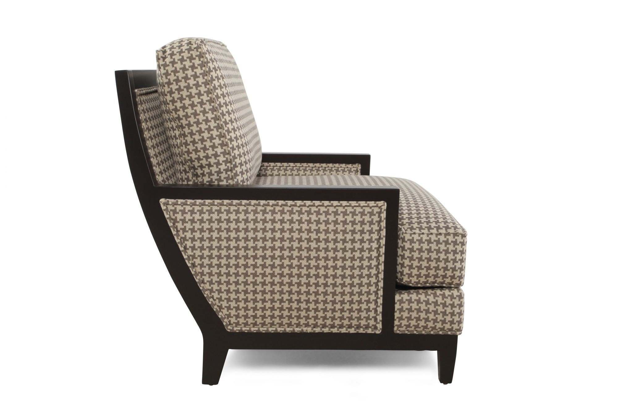 Patterned Traditional 37u0026quot; Accent Chair