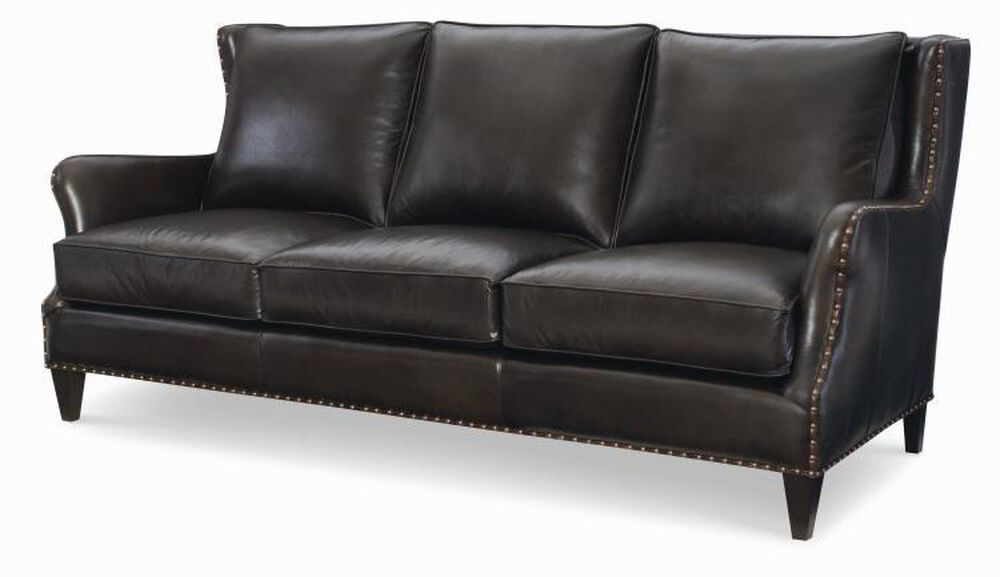 Hoskins Leather Sofa Mathis Brothers