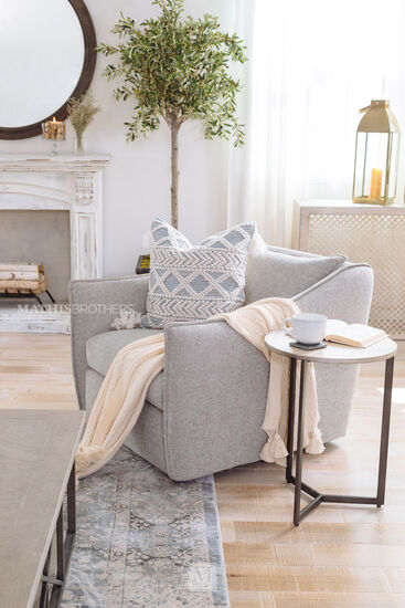 Magnolia Home Everly Power Loomed Rug in Mist
