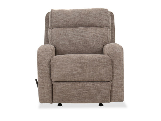 "Contemporary 40"" Rocker Recliner in Gray"