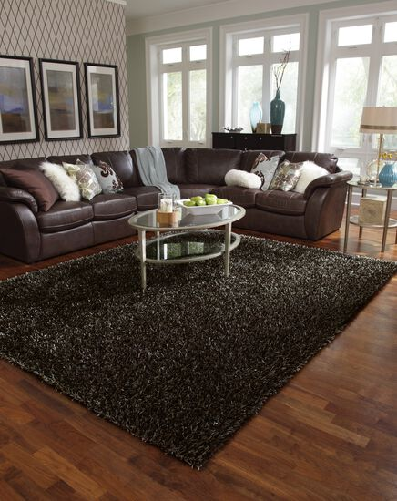 Shags Rug in Charcoal