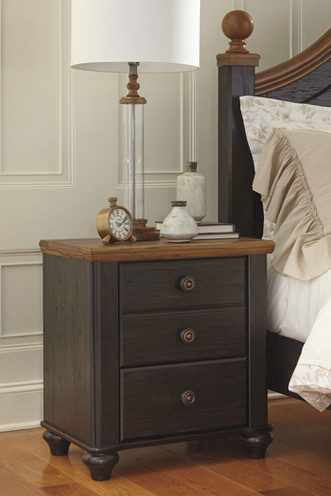 26 Two Drawer Nightstand In Dark Brown Mathis Brothers Furniture
