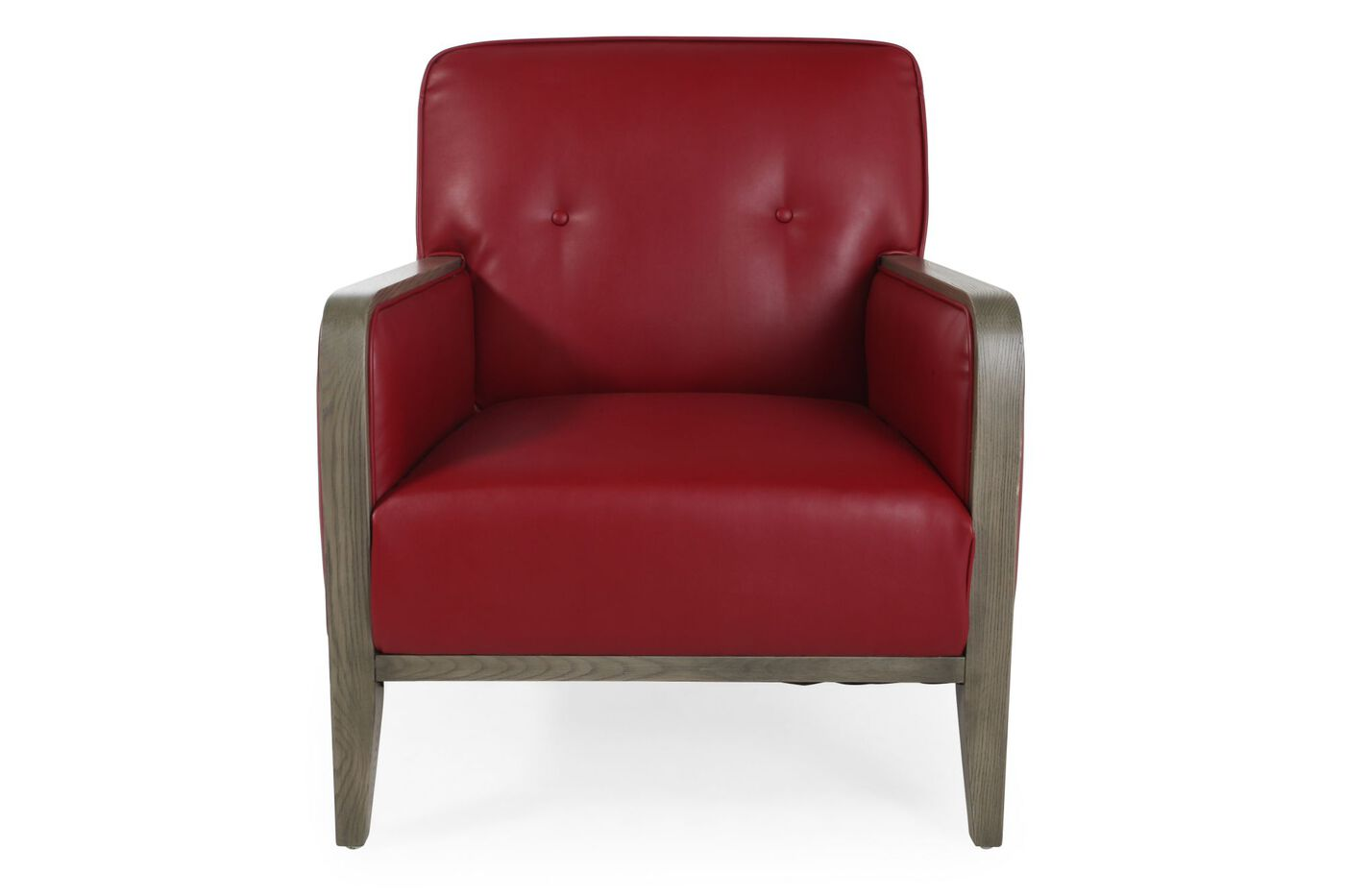 red living room chairs button tufted contemporary 30 quot accent chair in 12154