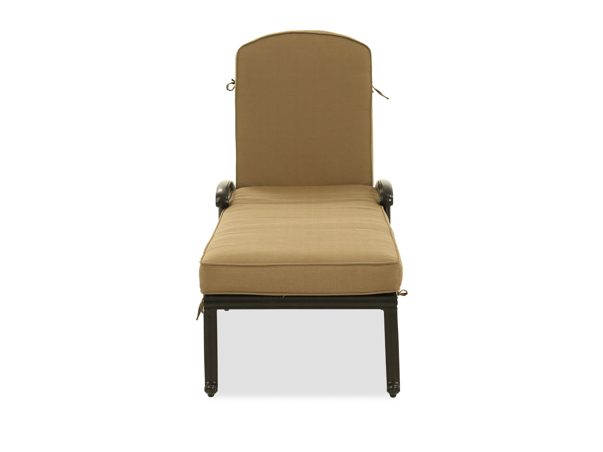 Aluminum Chaise Lounge In Bronze ...