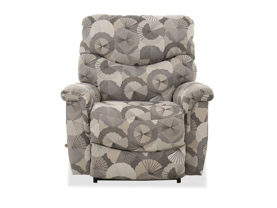 Casual Rocker Recliner in Beige