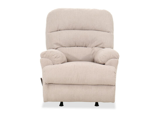 "Casual 36"" Rocker Recliner in Beige"
