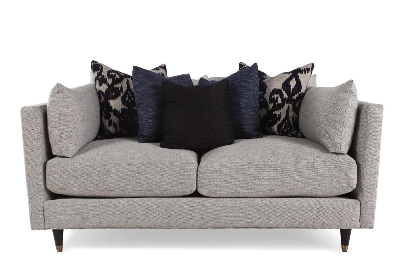Low Profile 70 Quot Sofa In Cream Mathis Brothers Furniture