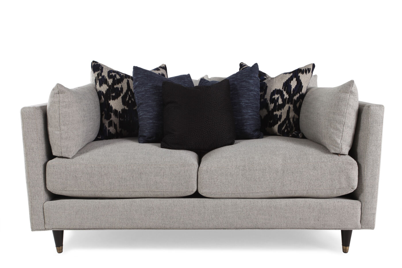 Low profile 70 sofa in cream mathis brothers furniture for Brother v brother living room