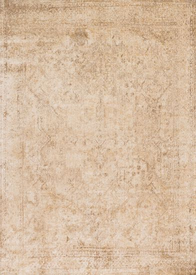 "Transitional 2'-7""x8'-0"" Rug in Ivory/Lt. Gold"