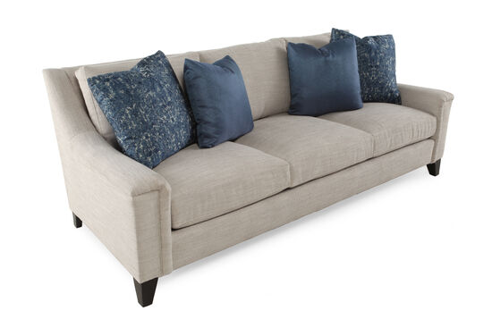 "High-Profile 93"" Metropolitan Sofa in Cream"