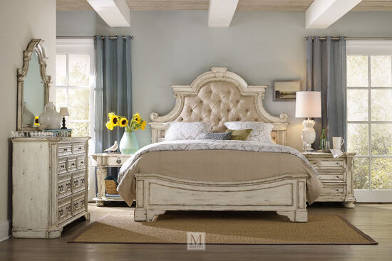 Hooker Sanctuary King Upholstered Bed