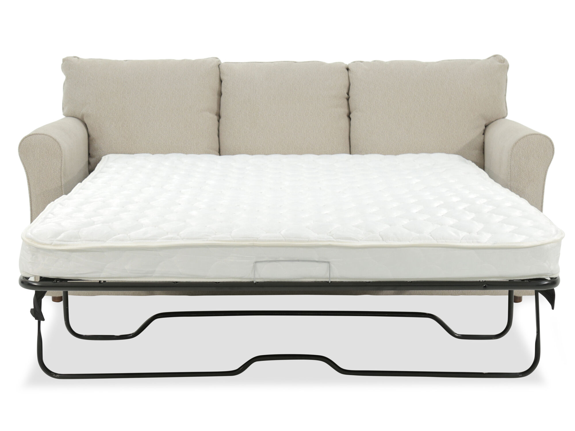 Casual 82 Queen Sleeper Sofa In Beige Mathis Brothers Furniture