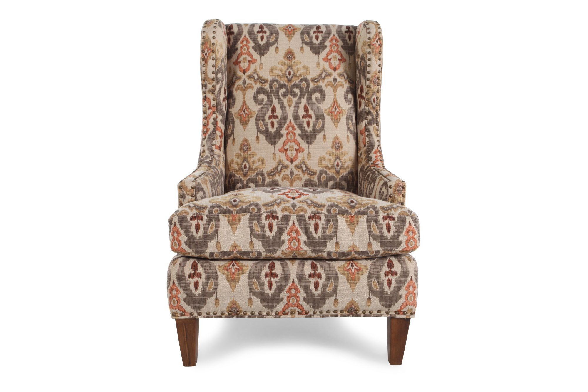 Bon Images Tapestry Patterned Wing Chair Tapestry Patterned Wing Chair