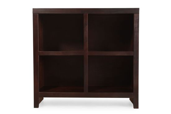Contemporary Cube Bookcase in Cherry