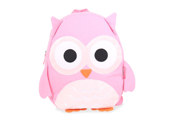 Owl Backpack in Pink