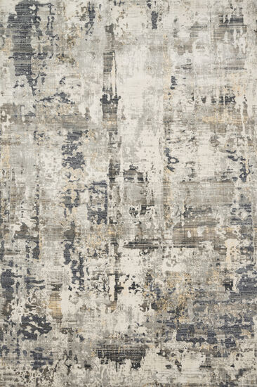 Loloi Power Loomed 5'3''x7'8'' Rug in Ivory/Charcoal
