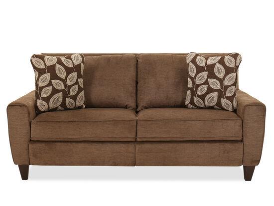 "Contemporary 81.5"" Power Reclining Sofa in Java"