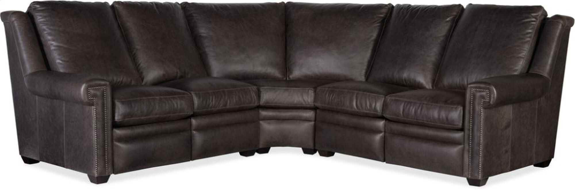 Bradington Young Santori Laf Loveseat Recline At Arm W Articulating Hr 966 55 Mathis Brothers Furniture