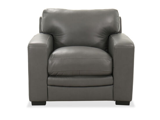 Casual Track Arm 42'' Chair in Charcoal Gray