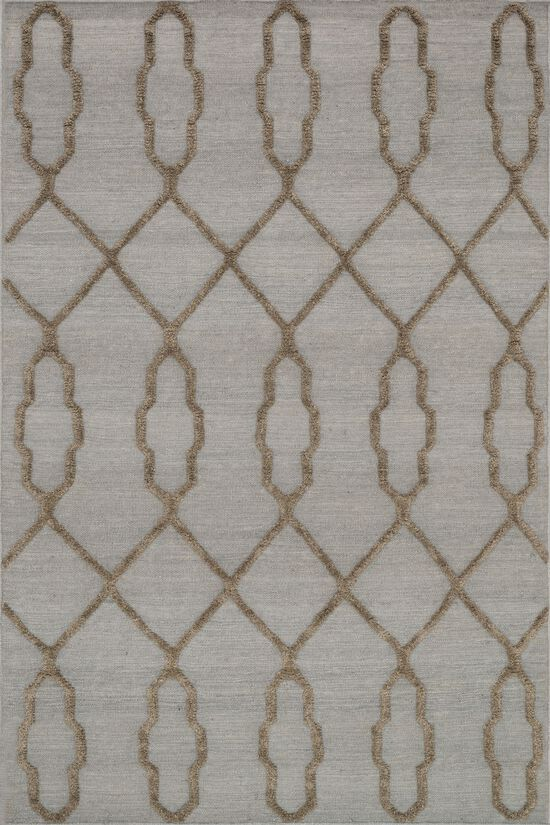 """Transitional 3'-6""""x5'-6"""" Rug in Slate"""