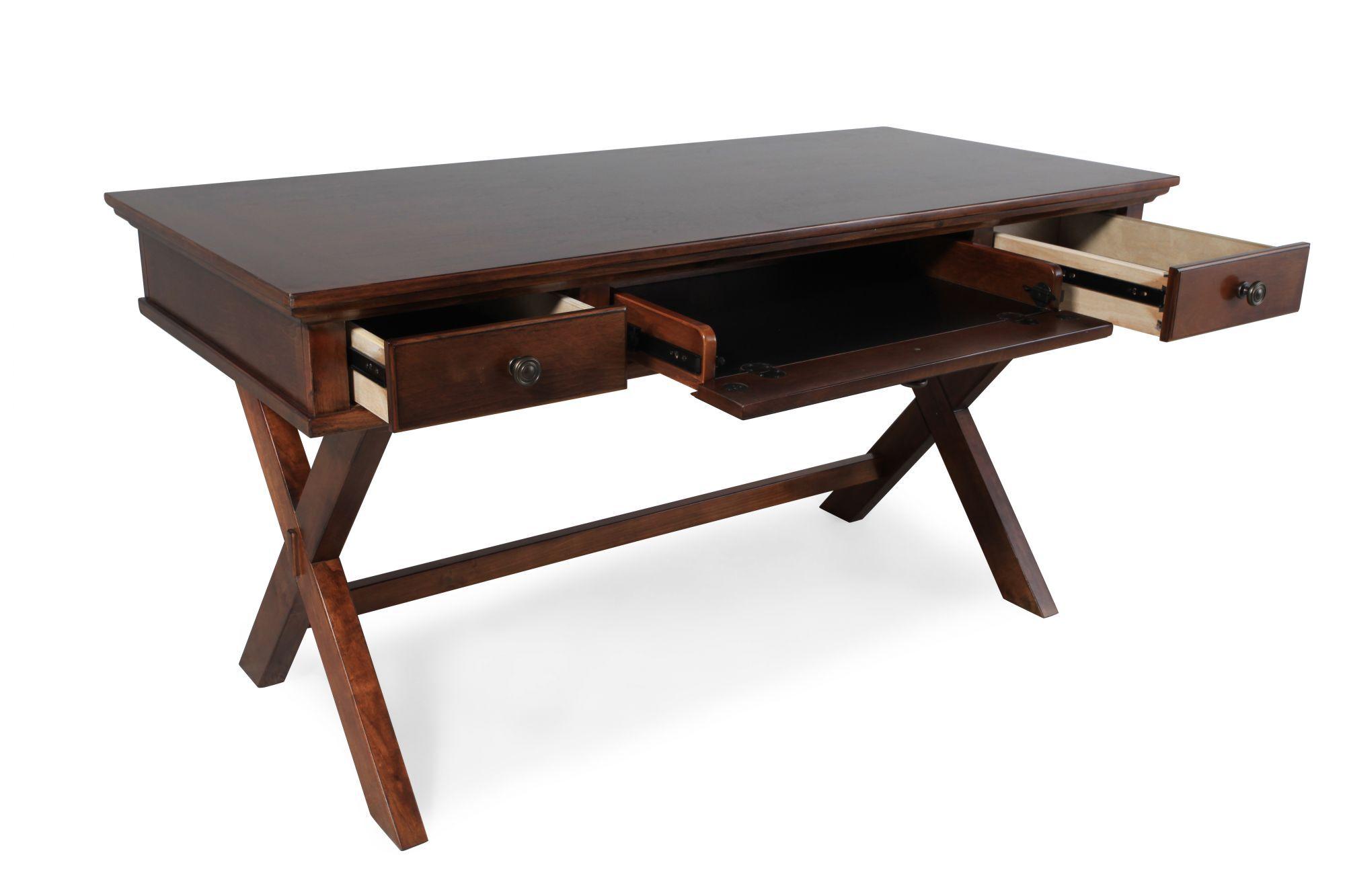 Amazing Ashley Burkesville X Leg Desk