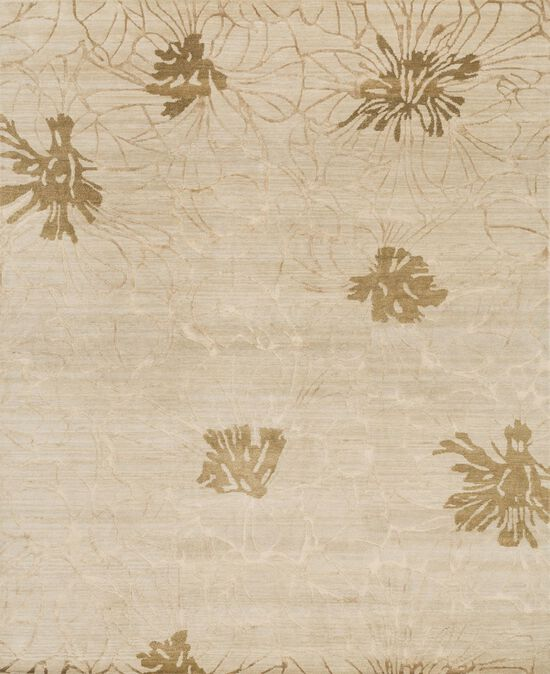 "Transitional 2'-0""x3'-0"" Rug in Beige"