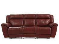 Boulevard Chili Pepper Burgundy Power Recliner Sofa