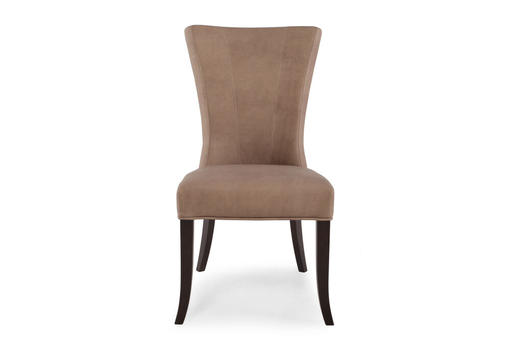 Flared Back 39'' Dining Chair in Saddle