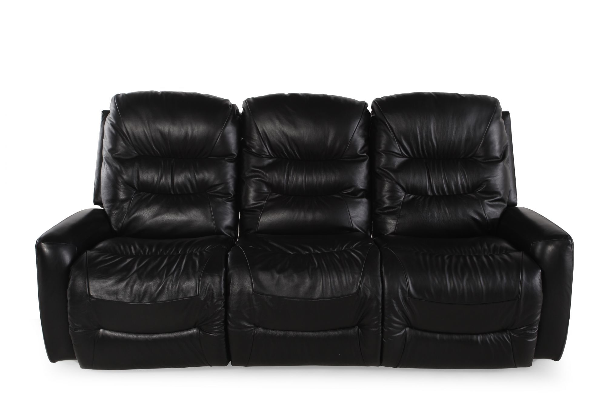 La-Z-Boy Ace Black Reclining Sofa  sc 1 st  Mathis Brothers & La-Z-Boy Ace Black Reclining Sofa | Mathis Brothers Furniture islam-shia.org