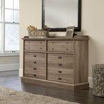 "36"" Contemporary Six-Drawer Dresser in Salt Oak"