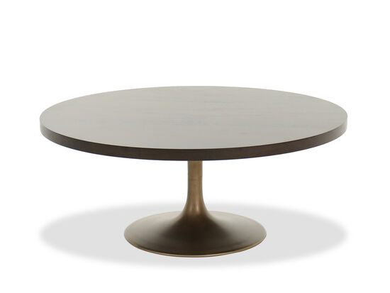 Round Modern Cocktail Table in Barton