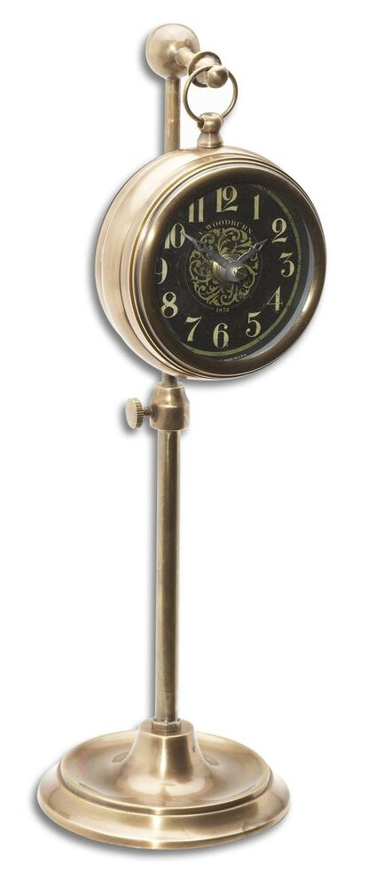 Arabic Numeral Pocket Watch Replica with Telescopic Stand