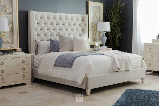Bernhardt Salon King Upholstered Bed