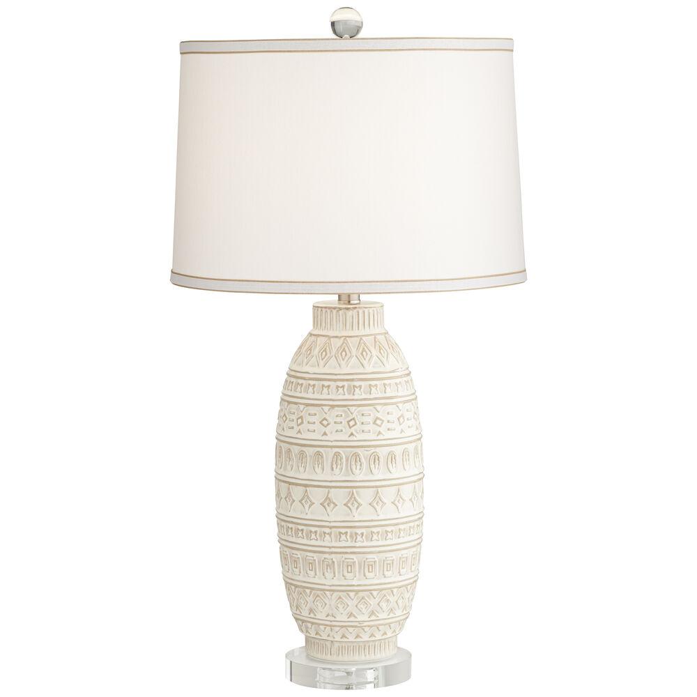 Cullen Beige Almond Table Lamp
