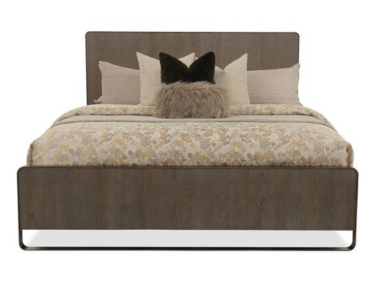 Universal Modern Keaton Charcoal Queen Bed