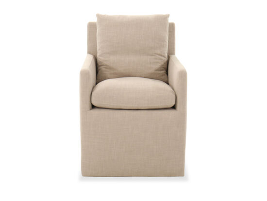 """Casual 24"""" Dining Chair in Beige"""