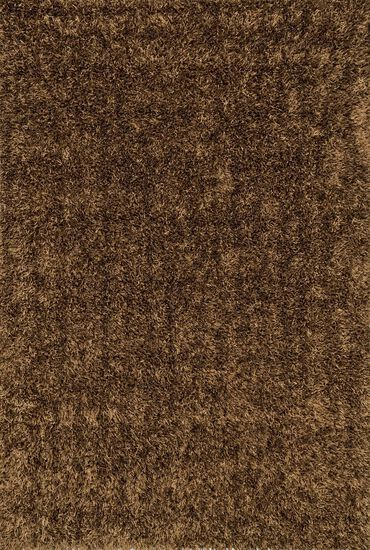 """Shags 3'-6""""x5'-6"""" Rug in Brown"""