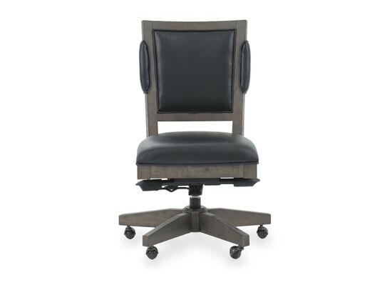 Leather Office Chairin Medium Brown
