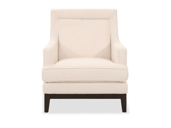 """31"""" Mid-Century Modern Accent Chair in Beige"""