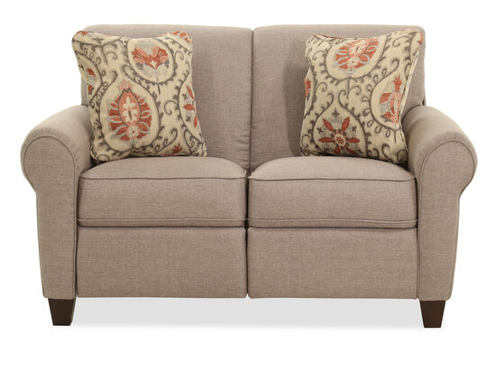 "Power Reclining 60"" Loveseat in Brown"