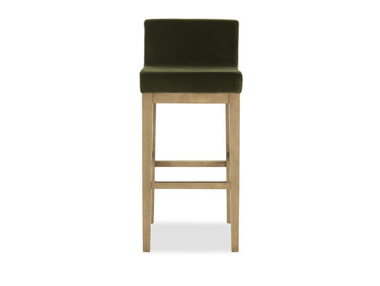 Low Back Barstool in Green