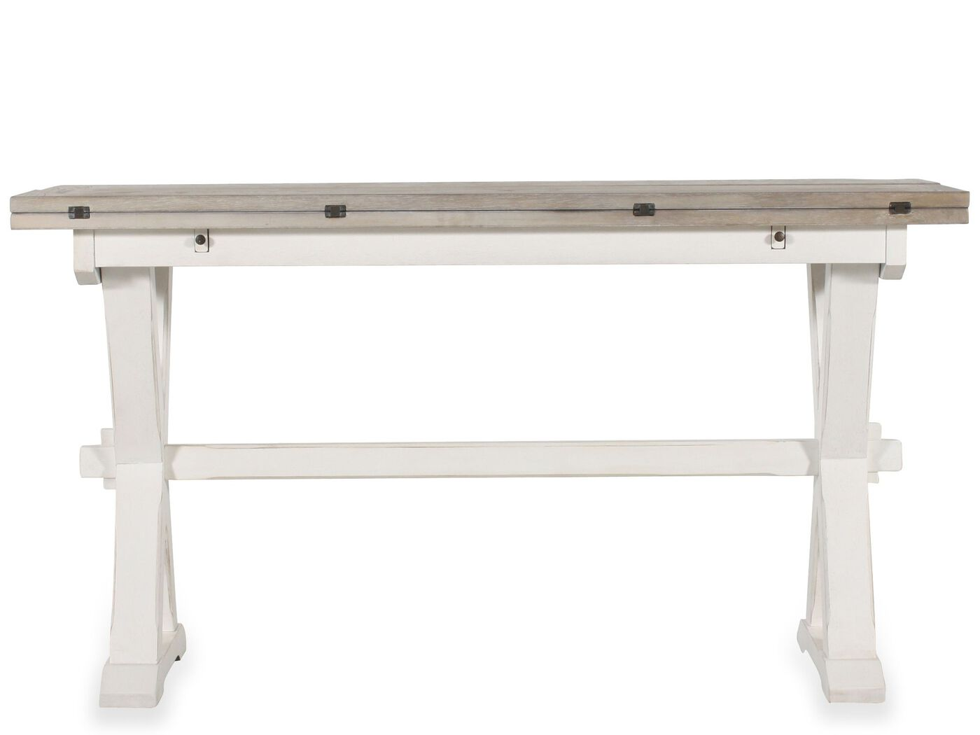 Mathis Brothers Patio Furniture drop leaf console table | mathis brothers