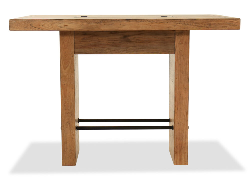 """Traditional 42"""" Bar Table in Blonde"""