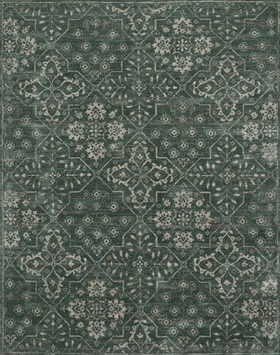 "Contemporary 7'-9""x9'-9"" Rug in Charcoal"