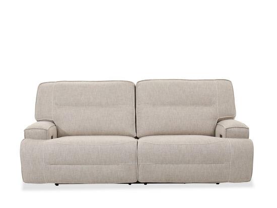 Casual Power Headrest Sofa in Beige