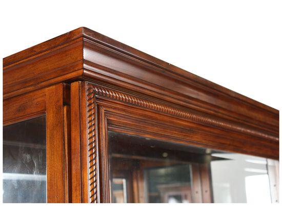 Traditional Two-Way Sliding Door Curioin Medium Oak