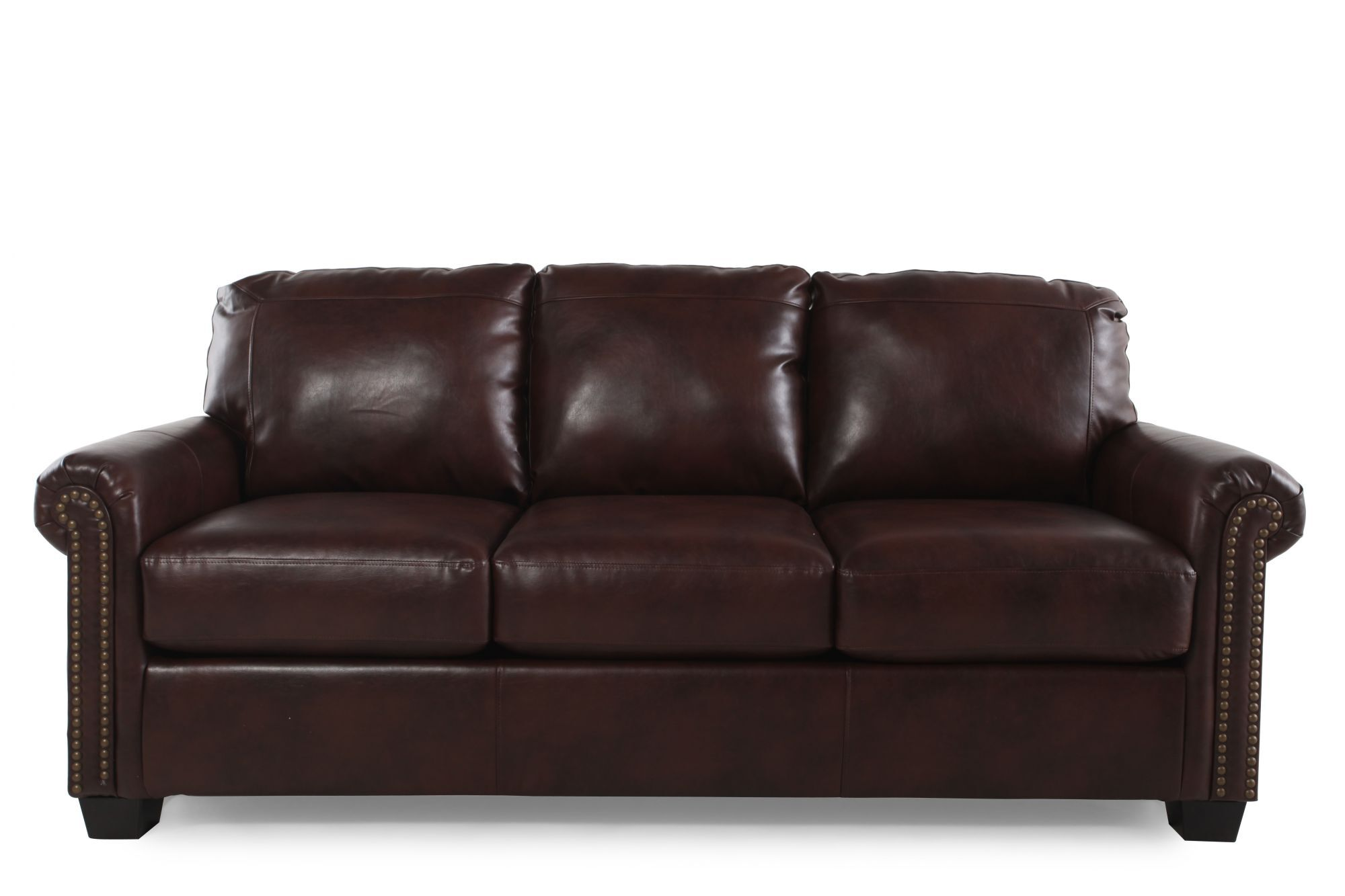 Rolled Arm Contemporary 83 Quot Queen Sleeper Sofa In