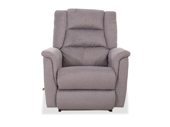 "Contemporary 35.5"" Rocker Recliner in Ice"